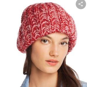 AQUA Bloomingdales Marled Rib-Knit Beanie
